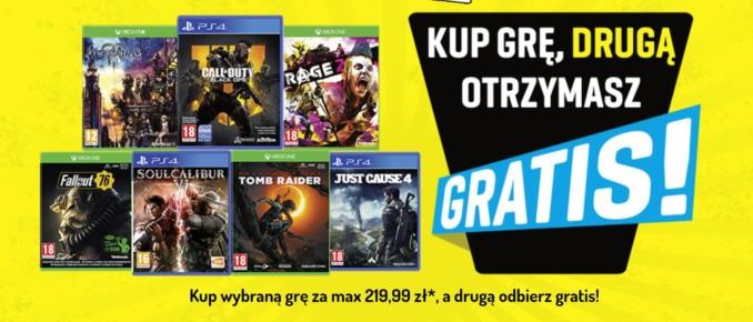 Kup wybraną grę konsolową z dystrybucji Cenega, drugą dostaniesz gratis!