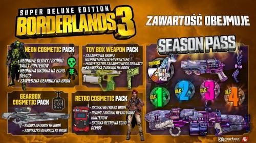 Promocja na Borderlands 3 Super Deluxe