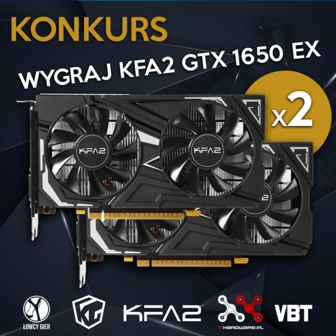 Giveaway: wygraj jedną z dwóch kart graficznych GTX 1650 EX!