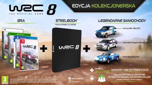 Promocja na edycję kolekcjonerską WRC 8
