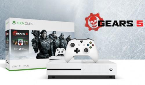 Promocja na Xbox One S + Gears 5 + kolekcję gier Gears of War