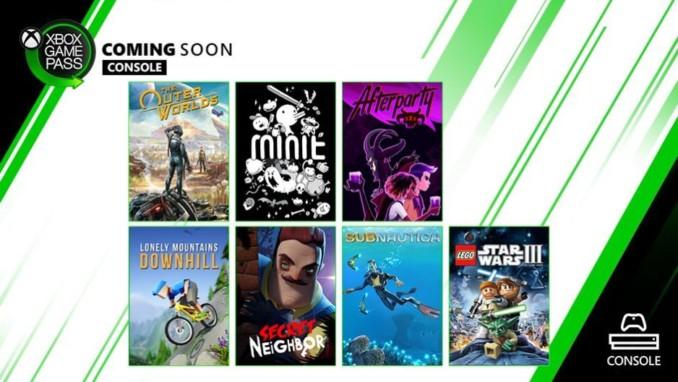 7 nowych gier wkrótce w usłudze Xbox Game Pass na konsole