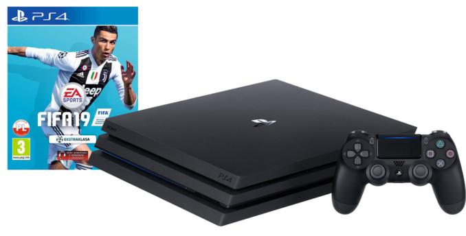 Konsola PlayStation 4 Pro (z grą FIFA 19) za 1349 złotych w Avans i Electro