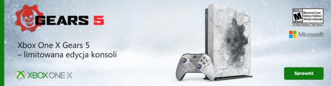 Limitowanie wydanie konsoli Xbox One X + GoW 5 + CoD: Modern Warfare za 1699,01 zł w X-kom