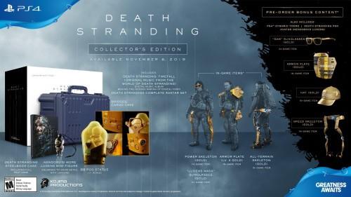 Promocja na Death Stranding Edycja Kolekcjonerska