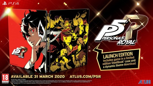 Promocja na Persona 5 Royal Steelbook Edition