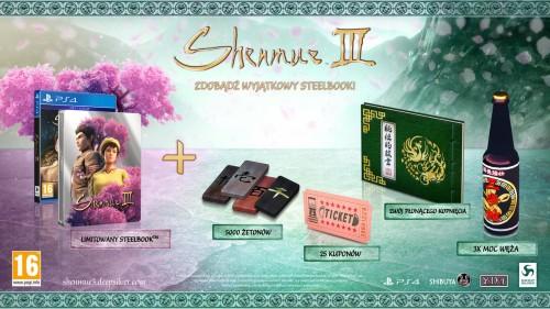 Promocja na Shenmue 3 + Steelbook