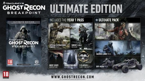 Promocja na Ghost Recon Breakpoint Ultimate