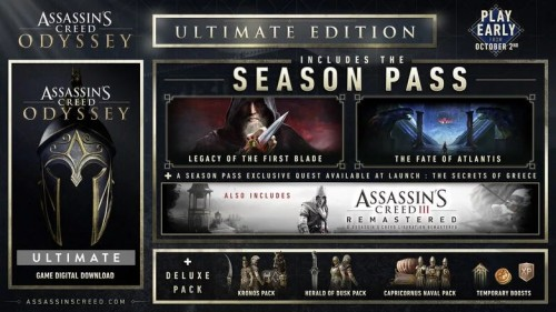 Promocja na Assassin's Creed Odyssey: Ultimate Edition