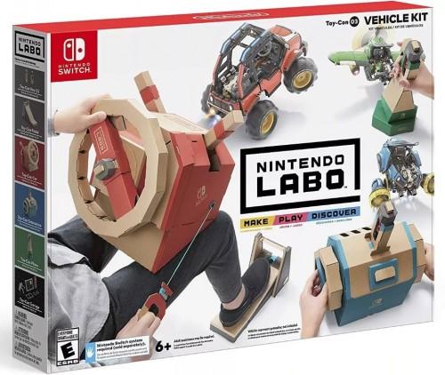 Promocja na Nintendo Labo Vehicle Kit