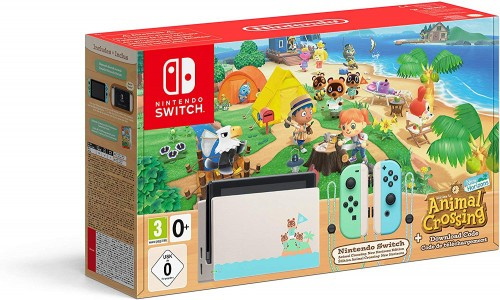 Promocja na konsolę Nintendo Switch Animal Crossing Edition