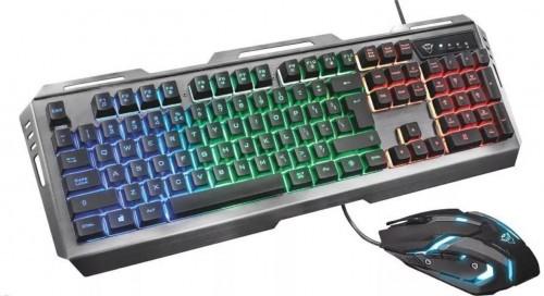 Promocja na klawiaturę i mysz Trust GXT 845 Tural Gaming Combo