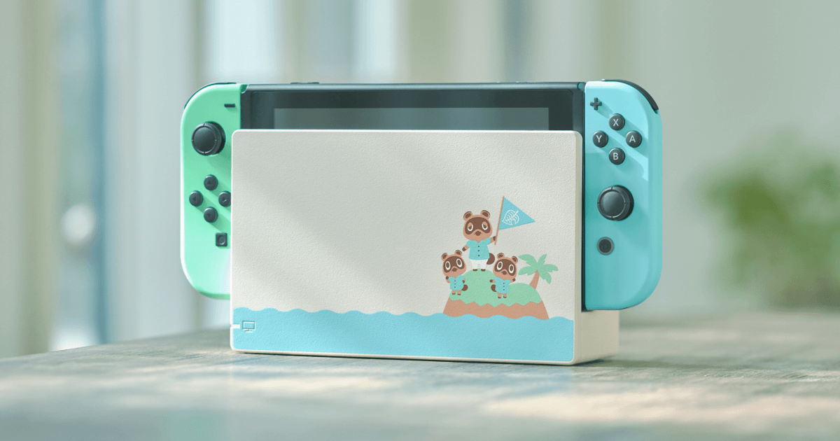 Anima Crossing Nintendo Switch Special Edition