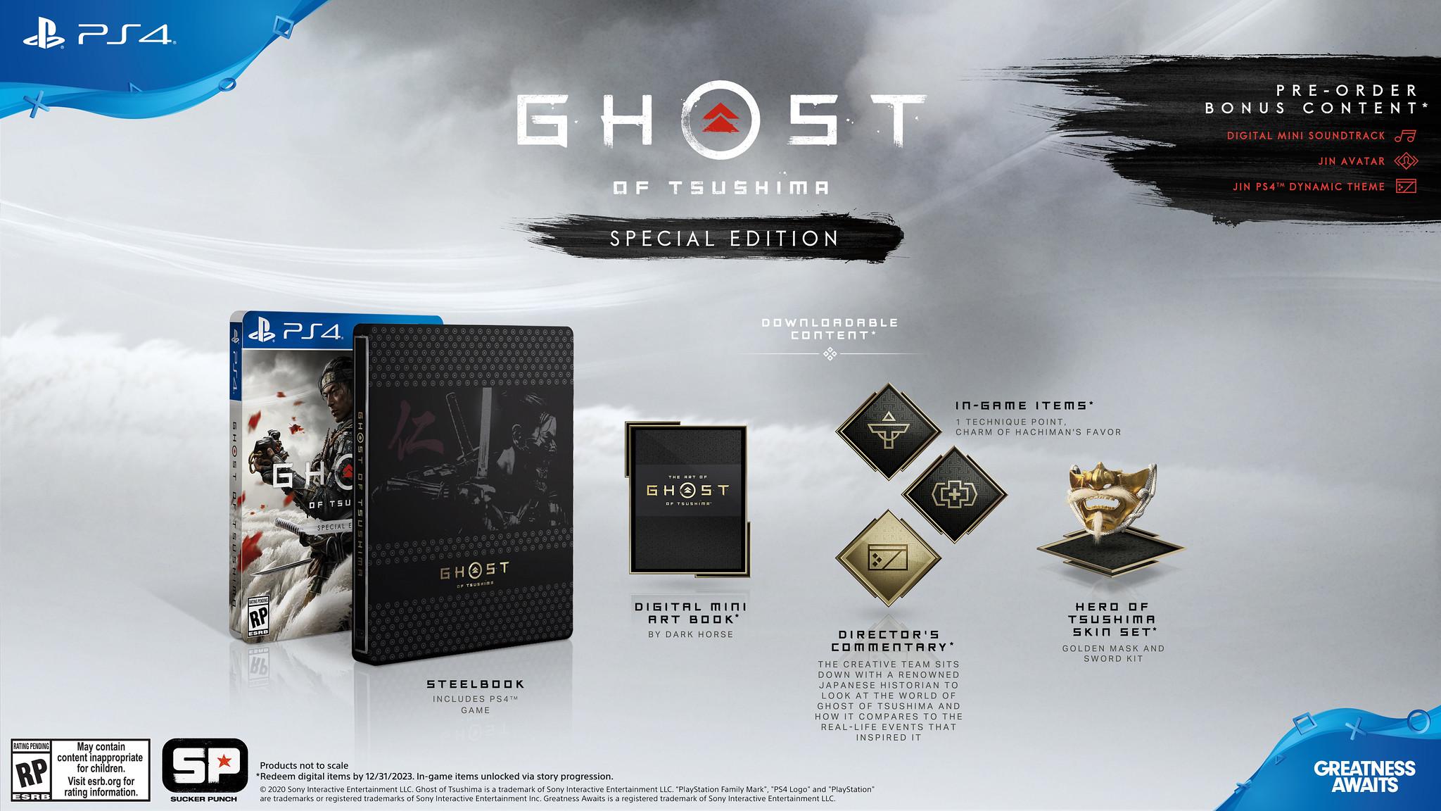 Promocja na Ghost of Tsushima