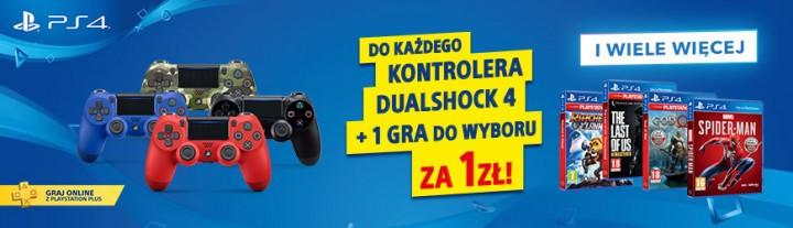 Gra za 1 zł przy zakupie DualShock