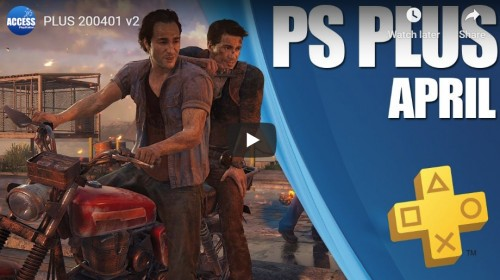 Uncharted 4 i DIRT Rally 2.0 w kwietniowym PlayStation Plus