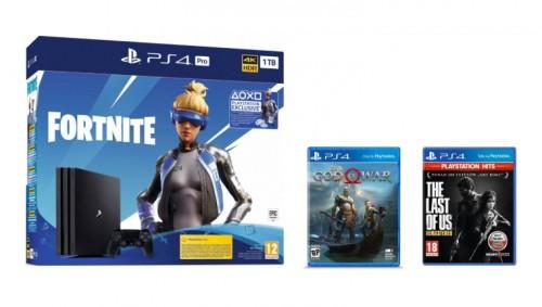 Promocja na PlayStation 4 Pro Fortnite Neo Versa Bundle
