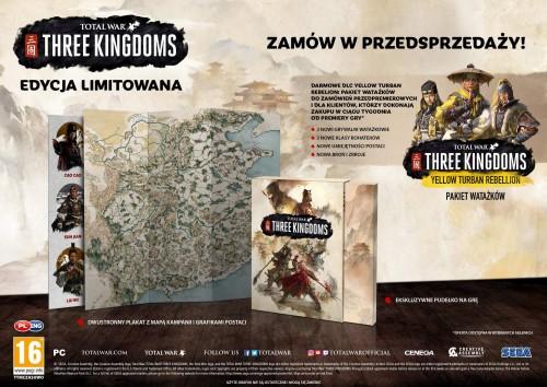 Promocja na Total War Three Kingdoms Edycja Limitowana