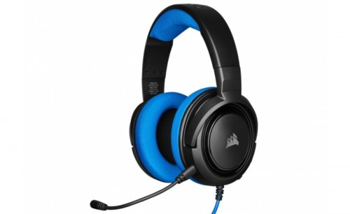 Promocja na słuchawki Corsair HS35 (niebieskie)