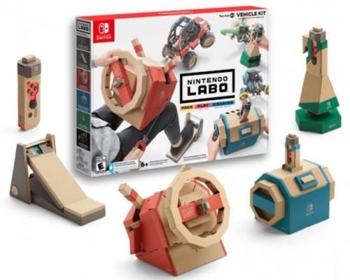 Promocja na Nintendo Labo Labo Vehicle kit Switch
