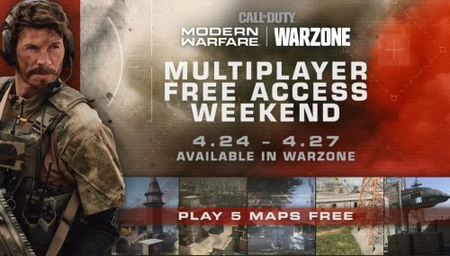 Darmowy weekend z trybem multiplayer Call of Duty: Modern Warfare
