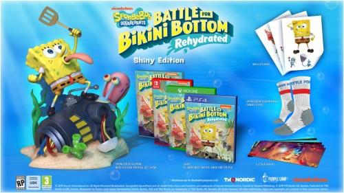 Promocja na SpongeBob SquarePants: Battle for Bikini Bottom - Shiny Edition
