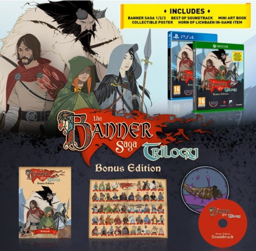 Promocja na The Banner Saga Trilogy Bonus Edition