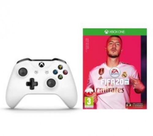 Promocja na Xbox One Kontroler bezprzewodowy + FIFA 20