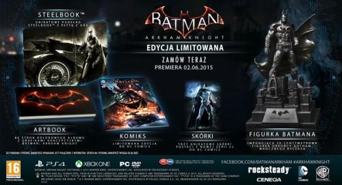 Promocja na Batman Arkham Knight Memorial Collectors Edition