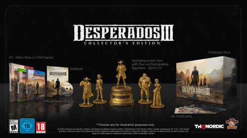 Promocja na Desperados III Collector's Edition