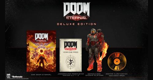 Promocja na Doom Eternal Deluxe Edition