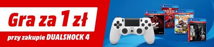 Promocja na DualShock 4 z grą za złotówkę