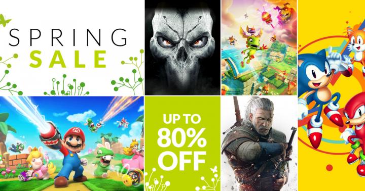 Spring Sale w Nintendo eShop