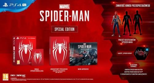 Promocja na edycję specjalną  Marvel's Spider-Man