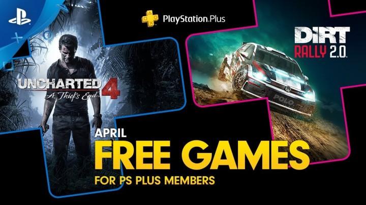 PlayStation Plus - kwiecień 2020