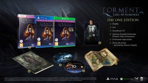 Promocja na Torment: Tides of Numenera Day One Edition