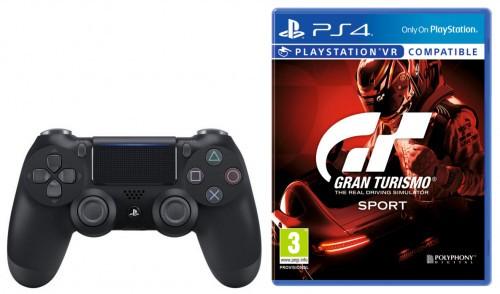 Promocja na DualShock 4 v2 (czarny) + Gran Turismo Sport