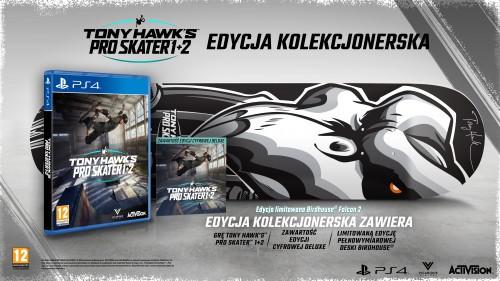Promocja na Tony Hawk's Pro Skater 1 + 2 Edycja kolekcjonerska