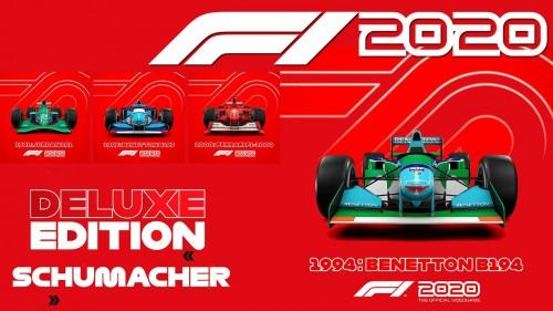 Promocja na F1 2020 Deluxe Schumacher