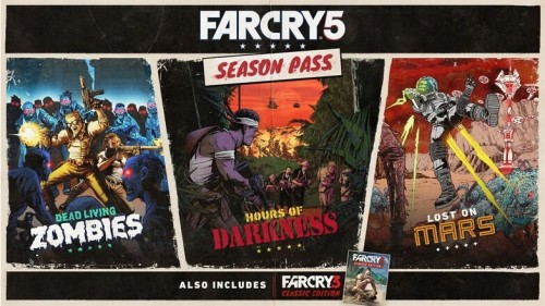 Promocja na Far Cry 5 Season Pass