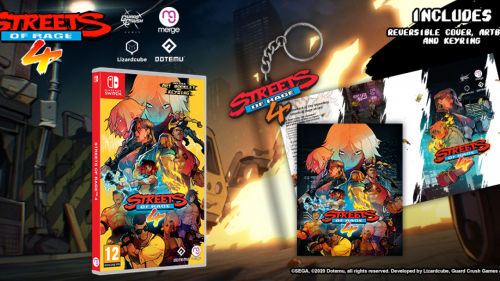 Promocja na Streets of Rage 4 (Nintendo Switch)