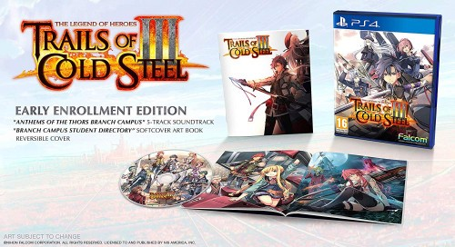 Promocja na The Legend of Heroes: Trails of Cold Steel III Early Enrollment
