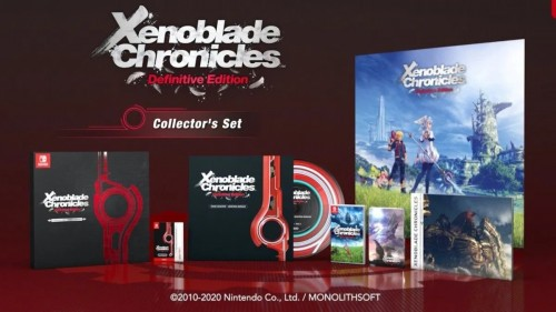 Promocja na Xenoblade Chronicles: Definitive Edition - Collector's Set
