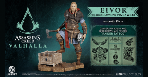 Promocja na Assassin's Creed Valhalla Figurka Eivora