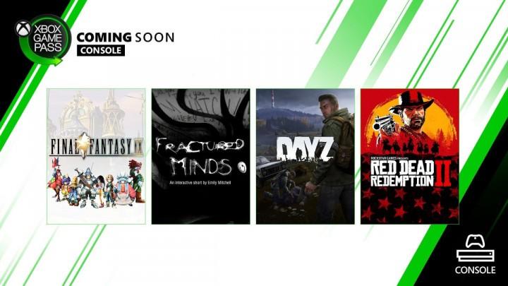 Xbox Game Pass Maj 2020