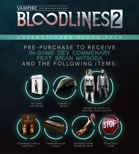 Promocja na Vampire: The Masquerade – Bloodlines 2: Unsanctioned Edition