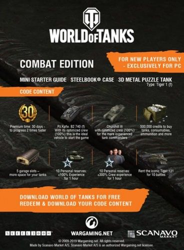 Promocja World of Tanks Combat Edition na PC