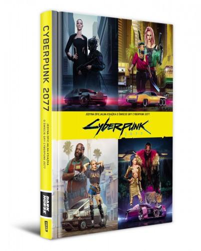 Promocja na Jedyna oficjalna książka o świecie gry Cyberpunk 2077