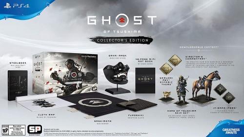 Promocja na Ghost of Tsushima Edycja Kolekcjonerska