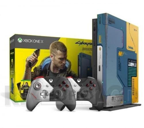 Promocja na Xbox One X Cyberpunk 2077 Limitowana Edycja